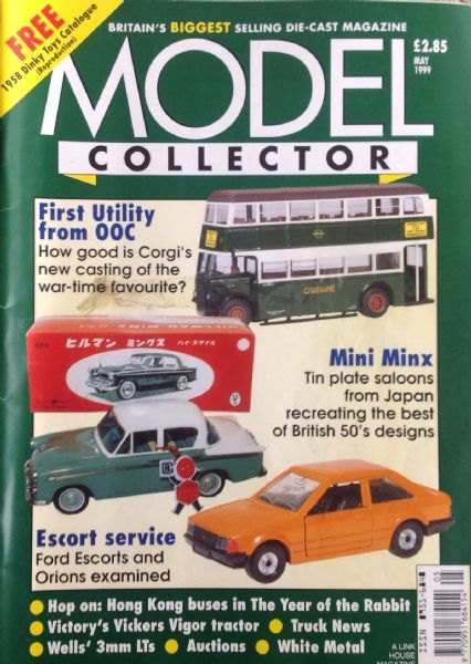 ORIGINAL MODEL COLLECTOR MAGAZINE May 1999